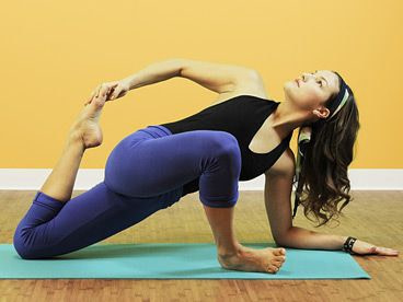 Utthan Pristhasana, Lizard-Pose - quad stretch variation