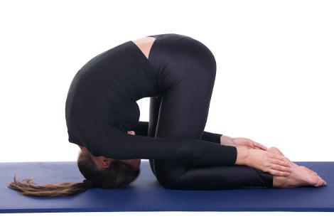 Hare Pose, Sasankasana - Yoga Classes in Milton Keynes - yogalily.com
