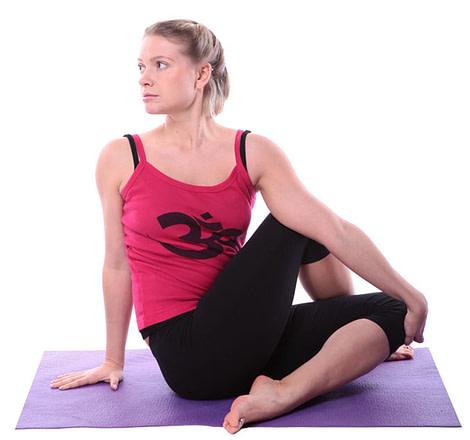 Ardha Matsyendrasana, Seated half Spinal Twist