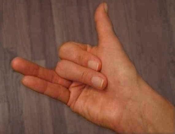 Nadi Suddhi Pranayama, Alternate Nostril Breathing Hand Position