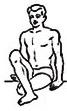 Ardha Matsyendrasana position 1 & 2