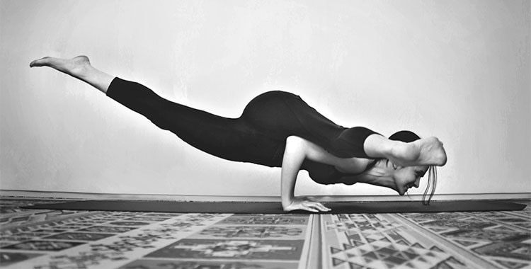Split-leg Arm Balance Build Up