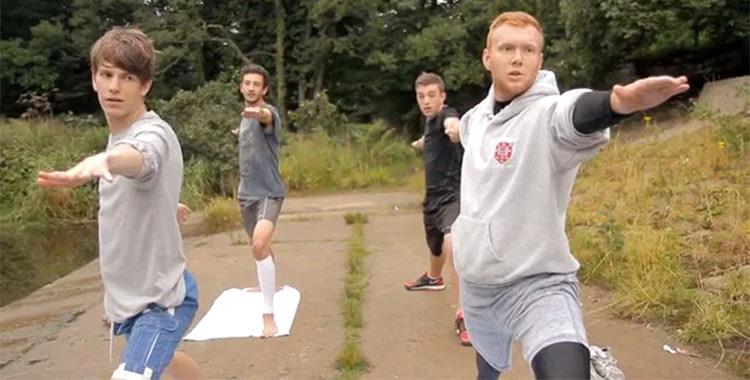 Yoga Boys: A One-Minute Documentary (video)