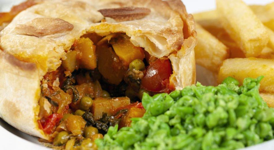 Vegan Veggie Curry Pies
