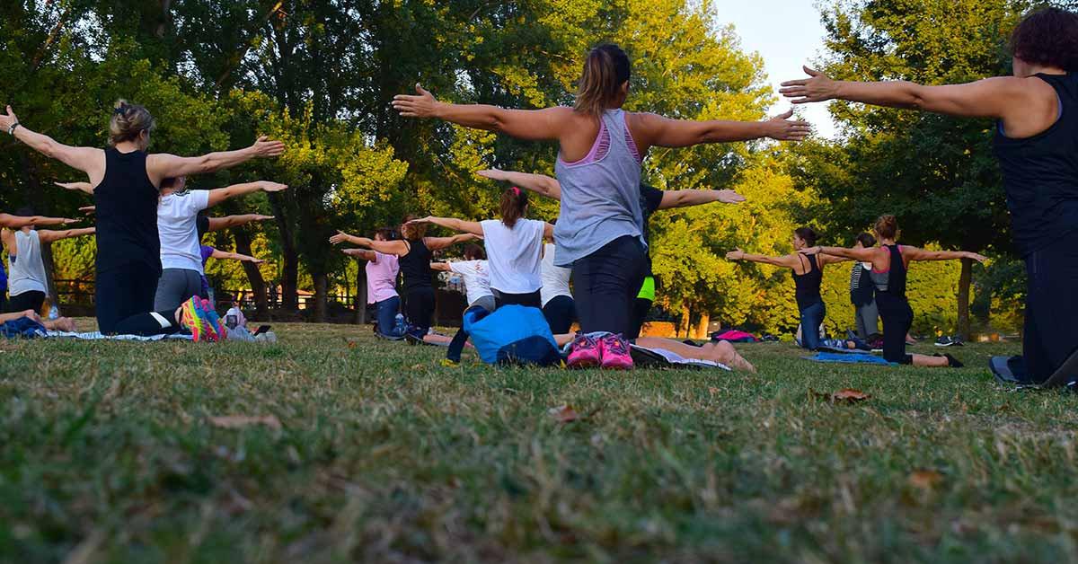 Outdoor Slow Flow Yoga